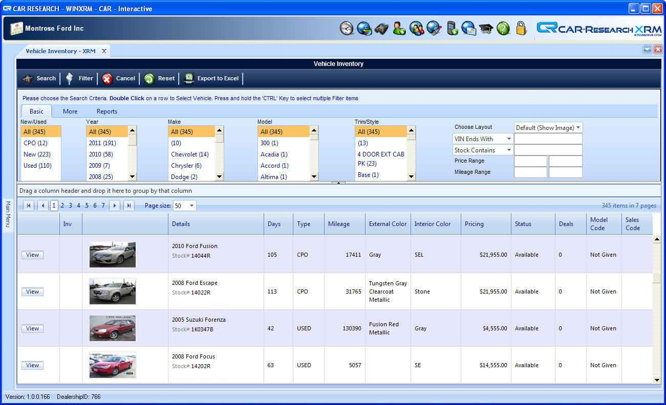 Car Research Xrm >> Car Research Inventory Management Solution Automotive Inventory