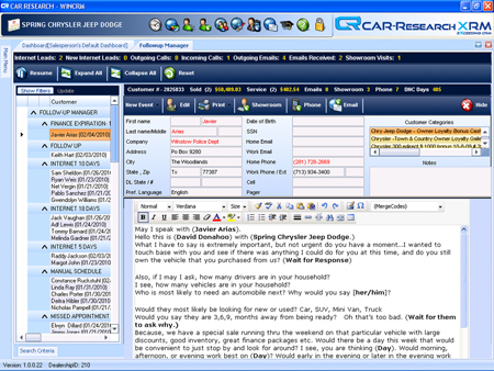Car Research Xrm >> CAR-Research CRM | Automotive BDC CRM Software, Auto Dealer BDC CRM Solutions, Car Dealer BDC ...